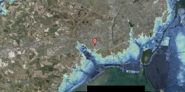 Stomflod og havvand på Syvhøjvænge 92, 2625 Vallensbæk