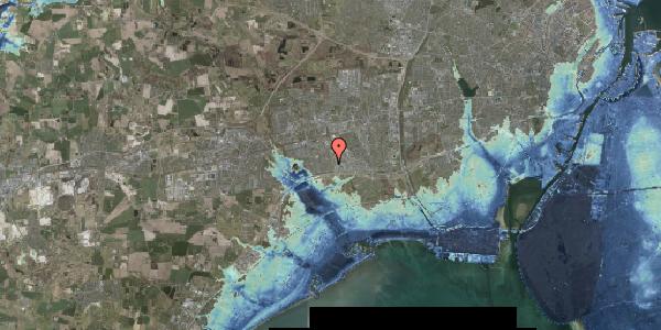 Stomflod og havvand på Syvhøjvænge 102, 2625 Vallensbæk