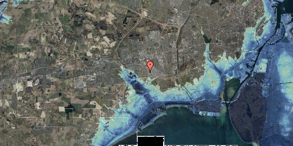 Stomflod og havvand på Syvhøjvænge 104, 2625 Vallensbæk