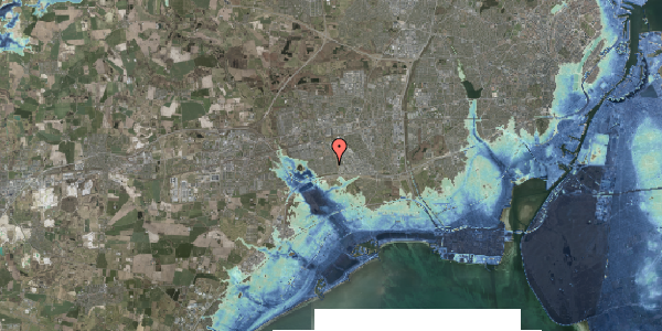 Stomflod og havvand på Syvhøjvænge 117, 2625 Vallensbæk