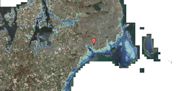 Stomflod og havvand på Syvhøjvænge 127, 2625 Vallensbæk