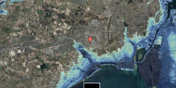 Stomflod og havvand på Syvhøjvænge 143, 2625 Vallensbæk