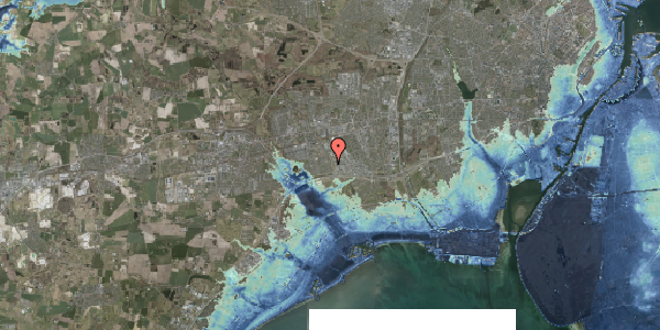 Stomflod og havvand på Syvhøjvænge 150, 2625 Vallensbæk