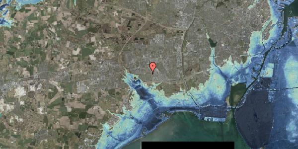 Stomflod og havvand på Syvhøjvænge 183, 2625 Vallensbæk