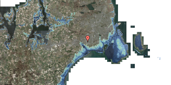 Stomflod og havvand på Syvhøjvænge 186, 2625 Vallensbæk
