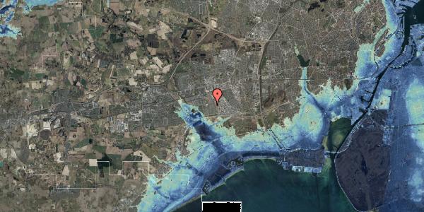 Stomflod og havvand på Syvhøjvænge 197, 2625 Vallensbæk