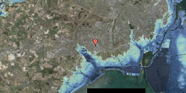 Stomflod og havvand på Syvhøjvænge 210, 2625 Vallensbæk