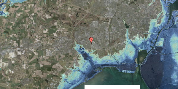 Stomflod og havvand på Syvhøjvænge 221, 2625 Vallensbæk