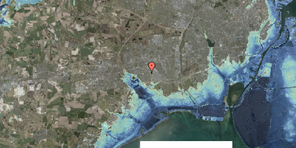 Stomflod og havvand på Syvhøjvænge 244, 2625 Vallensbæk