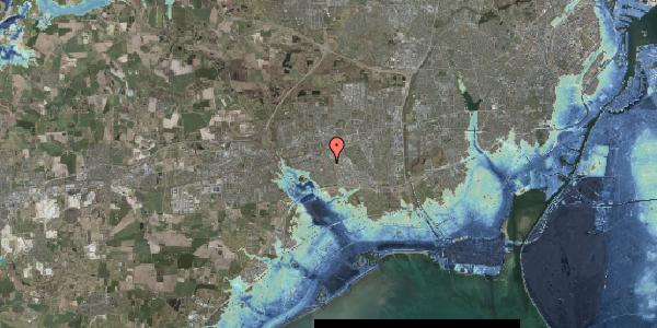 Stomflod og havvand på Valmuebakken 15, 2625 Vallensbæk