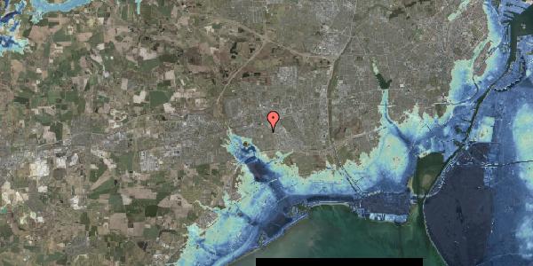 Stomflod og havvand på Valmuebakken 25, 2625 Vallensbæk
