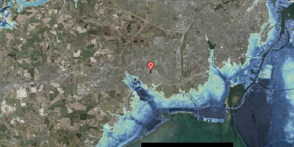Stomflod og havvand på Valmuebakken 28, 2625 Vallensbæk