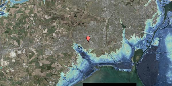 Stomflod og havvand på Valmuebakken 33, 2625 Vallensbæk