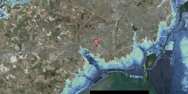 Stomflod og havvand på Valmuebakken 41, 2625 Vallensbæk