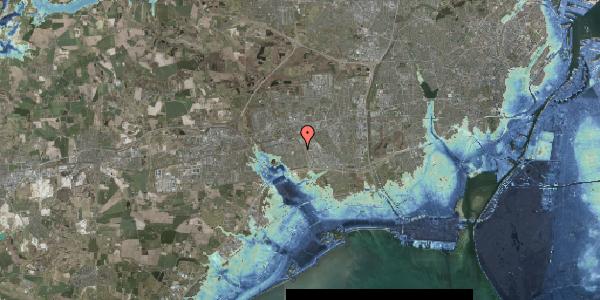 Stomflod og havvand på Valmuebakken 42, 2625 Vallensbæk