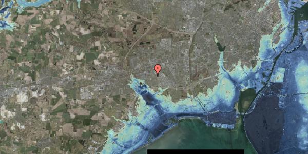 Stomflod og havvand på Valmuebakken 50, 2625 Vallensbæk