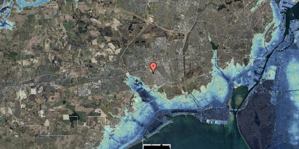 Stomflod og havvand på Valmuebakken 52, 2625 Vallensbæk