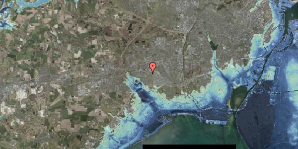 Stomflod og havvand på Valmuebakken 53, 2625 Vallensbæk