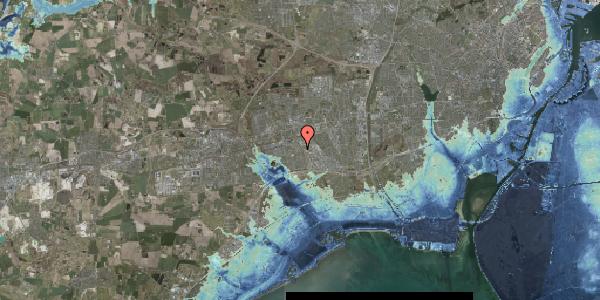 Stomflod og havvand på Valmuebakken 55, 2625 Vallensbæk