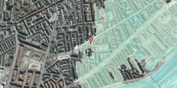 Stomflod og havvand på Istedgade 93, 1. , 1650 København V