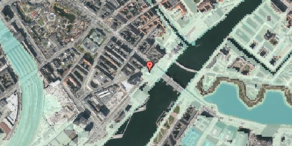 Stomflod og havvand på Puggaardsgade 23, 17. , 1573 København V