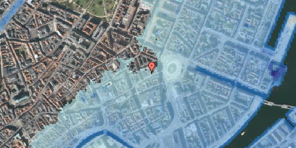 Stomflod og havvand på Østergade 16A, 2. tv, 1100 København K