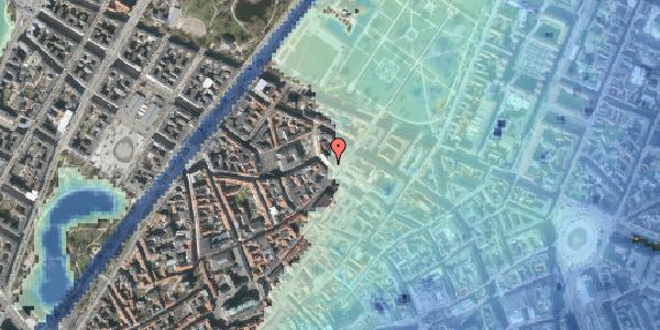 Stomflod og havvand på Suhmsgade 2C, 4. th, 1125 København K