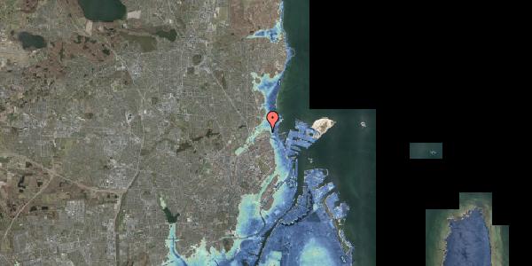 Stomflod og havvand på Svanemøllens Kaserne 45, 2100 København Ø