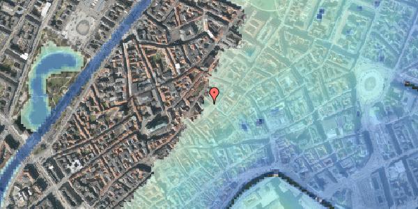 Stomflod og havvand på Gråbrødretorv 6, st. , 1154 København K