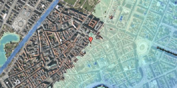 Stomflod og havvand på Klareboderne 3A, 1115 København K