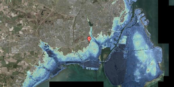 Stomflod og havvand på Hf. Svarø 63, 2650 Hvidovre