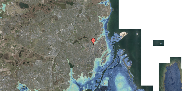 Stomflod og havvand på Bisiddervej 22, 3. tv, 2400 København NV