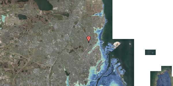 Stomflod og havvand på Rødhalsgangen 14, 2400 København NV