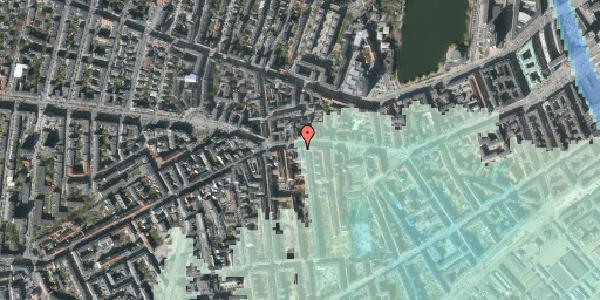 Stomflod og havvand på Vesterbrogade 69, 1. , 1620 København V