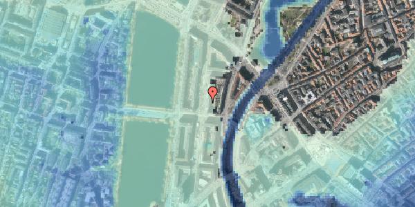 Stomflod og havvand på Nyropsgade 25, 4. , 1602 København V