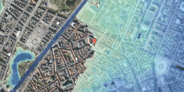 Stomflod og havvand på Suhmsgade 2C, 1. th, 1125 København K
