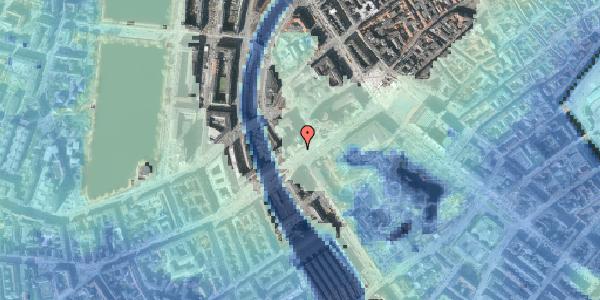 Stomflod og havvand på Vesterbrogade 4A, 5. , 1620 København V