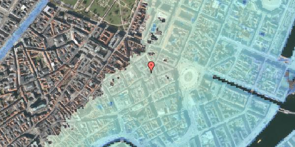 Stomflod og havvand på Grønnegade 10, 1107 København K