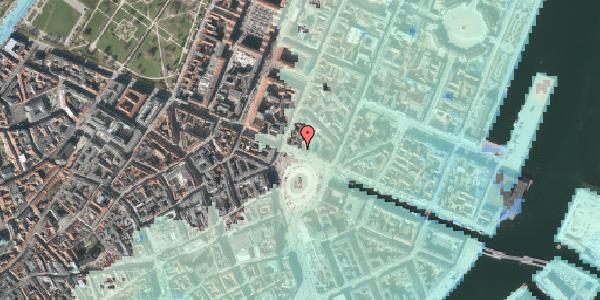 Stomflod og havvand på Kongens Nytorv 16, 4. , 1050 København K
