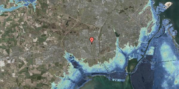Stomflod og havvand på Banegårdspladsen 11, 2600 Glostrup