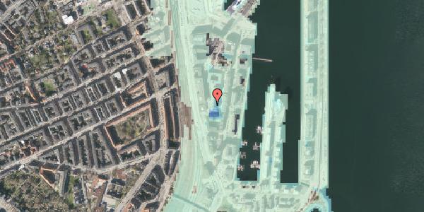 Stomflod og havvand på Amerika Plads 4B, st. , 2100 København Ø