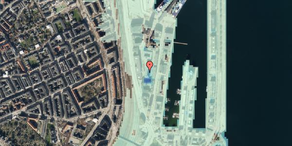 Stomflod og havvand på Amerika Plads 6, 4. th, 2100 København Ø