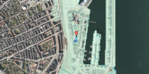 Stomflod og havvand på Amerika Plads 6, 7. th, 2100 København Ø