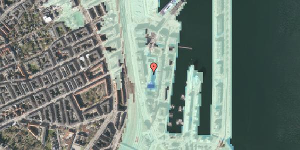 Stomflod og havvand på Amerika Plads 8, 4. th, 2100 København Ø