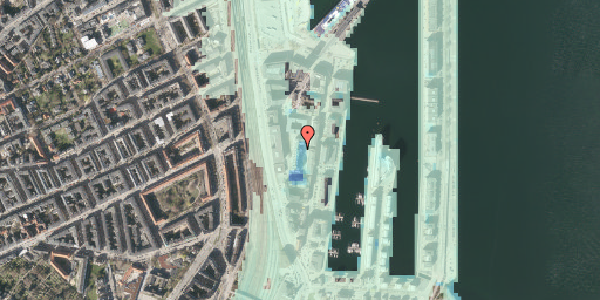 Stomflod og havvand på Amerika Plads 10, 5. th, 2100 København Ø