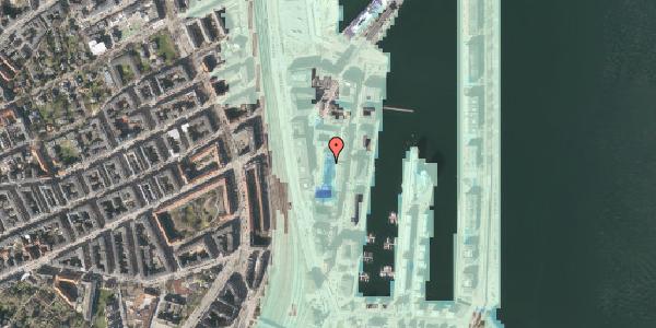 Stomflod og havvand på Amerika Plads 10, 6. tv, 2100 København Ø