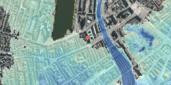 Stomflod og havvand på Trommesalen 3B, 5. , 1614 København V