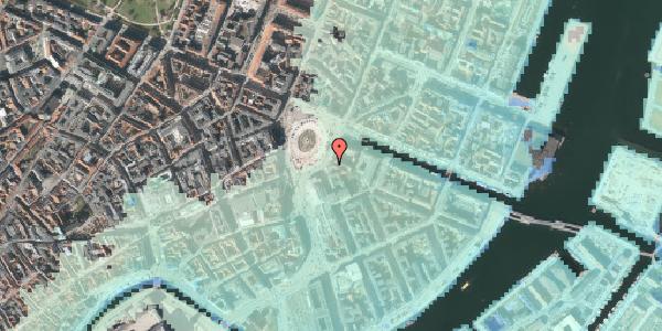Stomflod og havvand på Kongens Nytorv 3, 2. , 1050 København K