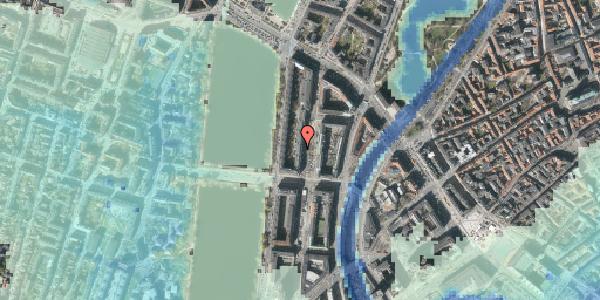 Stomflod og havvand på Nyropsgade 24, 2. , 1602 København V