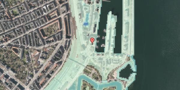Stomflod og havvand på Dampfærgevej 6A, 2100 København Ø